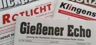 Neu: Kleinzeitungen auf dkp.de
