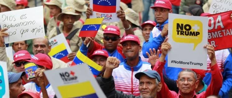 Mehr als 13 Millionen Menschen unterschrieben den Brief an UNO-Generalsekretär António Guterres, und das nicht nur in Venezuela. (Foto: #MásDe13Millones)