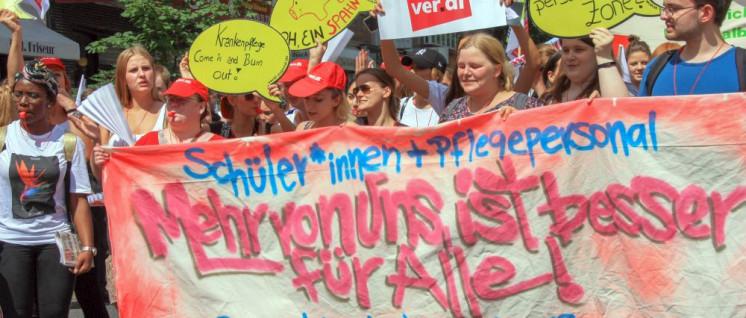 """""""Mehr von uns ist besser für Alle!"""" (Foto: Peter Köster)"""