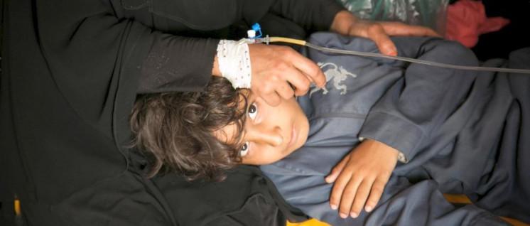 Opfer der Cholera-Epidemie im Jemen (Foto: Maria Korkunc / Norwegisches Rotes Kreuz)