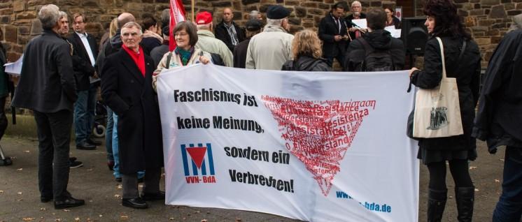 Seit 25 Jahren erinnert in Bergisch Gladbach eine Mahnwache an die Reichspogromnacht (Foto: Reiner Engels/r-mediabase.eu)