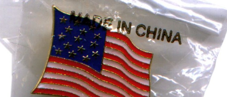 Symbol US-amerikanischen Patriotismus  - hergestellt in China. (Foto: [url=https://www.flickr.com/photos/daquellamanera/1242771346]Daniel Lobo/flickr.com[/url])