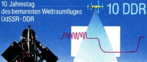 Die Ergebnisse der Arbeit der Akademie der Wissenschaften wurden in der DDR auch mit der Veröffentlichung von Briefmarken gewürdigt.