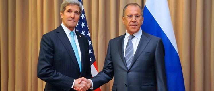 Die Außenminister der USA, John Kerry, und Russlands, Sergei Lawrow (r.) (Foto: U.S. Department of State)