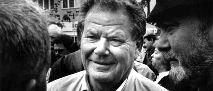 Herbert Mies, 1992 (Foto: UZ/Manfred Scholz)