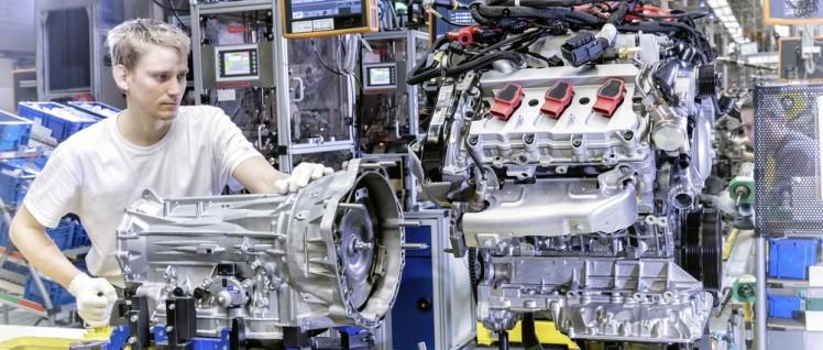 Die Produktivität ist im VW-Werk Bratislava hoch, die Löhne nicht. (Foto: Volkswagen AG 2015)