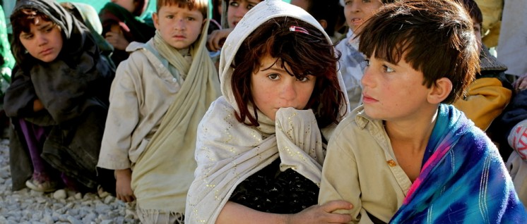 Kinder in Afghanistan (Foto: CC0 Public Domain)