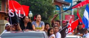 Autokorso von FSLN-Anhängern zu den Feierlichkeiten zum 39. Jahrestag des Sieges der Sandinistischen Volksrevolution (Foto: El 19 Digital)