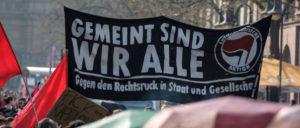 Solidarität statt Rechtsruck– Demonstration in Frankfurt am Main vergangenen Sonntag (Foto: Christian Martischius / r-mediabase )