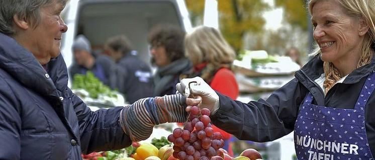Immer mehr Rentner beziehen ihre Lebensmittel von einer Tafel. (Foto: Münchner Tafel e.V.)