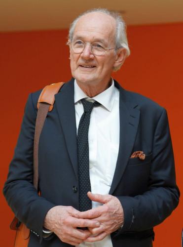 John Shipton, der Vater von Julian Assange in Berlin