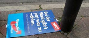 (Foto: Túrelio/wikimedia.com/CC-by-sa-3.0-de/Bundestagswahlkampf Plakat AfD Aachen 6205.jpg)