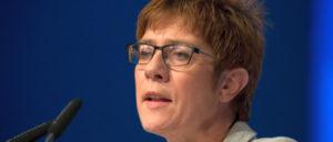 Annegret Kramp-Karrenbauer, CDU-Vorsitzende (Foto: Olaf Kosinsky / kosinsky.eu)