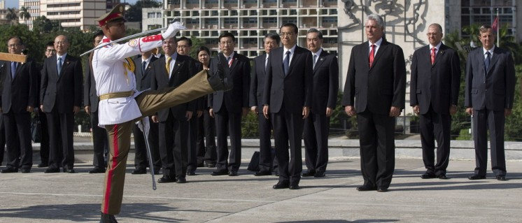 Der chinesische Ministerpräsident Li Keqiang beim Staatsbesuch in Havanna, Kuba, im September 2016 (Foto: Cubadebate)