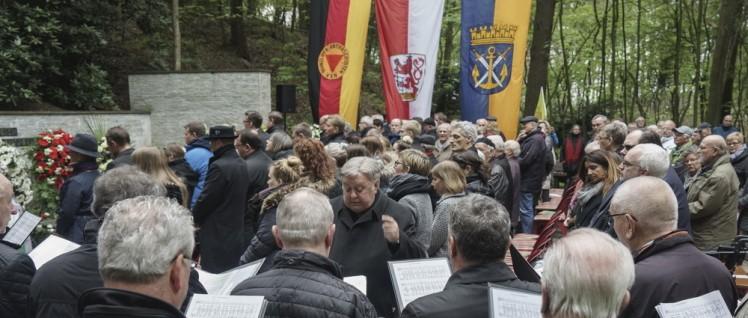 Gedenken in der Wenzelnbergschlucht (Foto: Jochen Vogler)