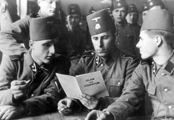 """Angehörige der 1942 gegründeten SS-Gebirgsdivision """"Handschar"""""""