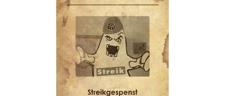 Seit Anfang letzter Woche spukt das Streikgespenst der IG BAU auf den Baustellen in Deutschland. (Foto: IG BAU)
