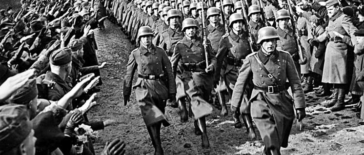 ... und 1939 den Rest Tschechiens. Danach beginnt Deutschland mit dem Überfall Polens den zweiten Weltkrieg. (Foto: Foto: wikimedia.org/public domain)