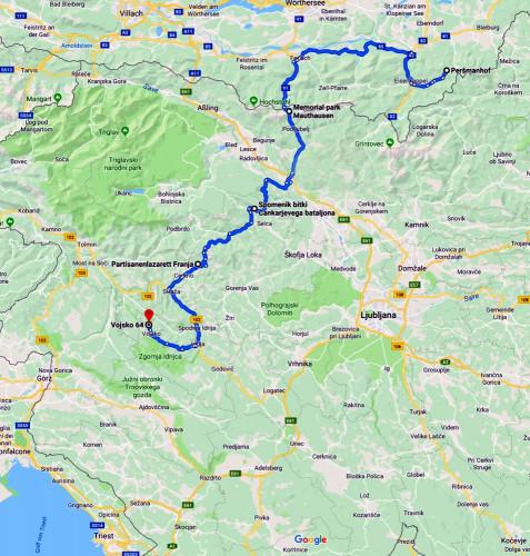 Auf den Spuren der Partisanen in Slowenien