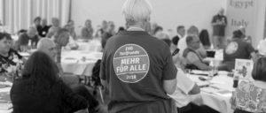 """Die Tarif-Forderungen der EVG wurden intensiv und breit diskutiert, u.a. in sogenannten """"Zukunftswerkstätten"""". (Foto: EVG)"""