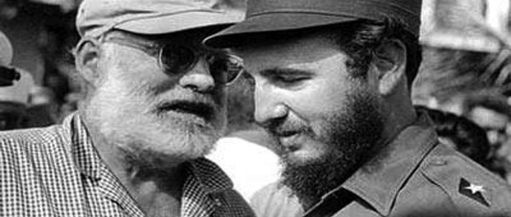Freunde: Ernest Hemingway und Fidel Castro (Foto: Granma internacional)