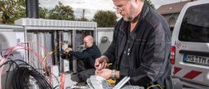 Ursache für die ernorme Belastung der Kolleginnen und Kollegen bei der Telekom ist der Ausbau des Breitbandnetzes und vor allem aber der Personalabbau der letzten Jahre. (Foto: Deutsche Telekom AG)