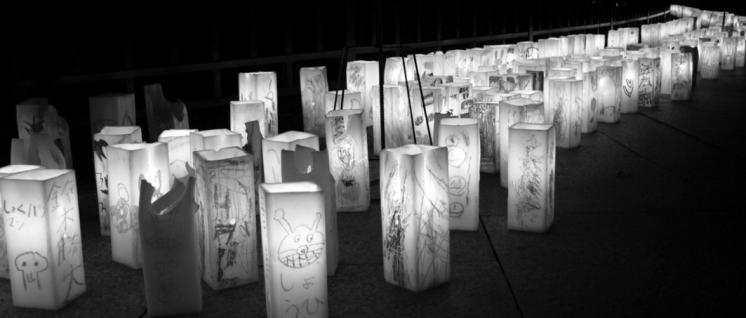 6. August 2014: Laternenfest in Hiroshima zur Erinnerung an das schreckliche Geschehen. (Foto: Vanvelthem Cédric / wikimedia.com / CC BY-SA 4.0)