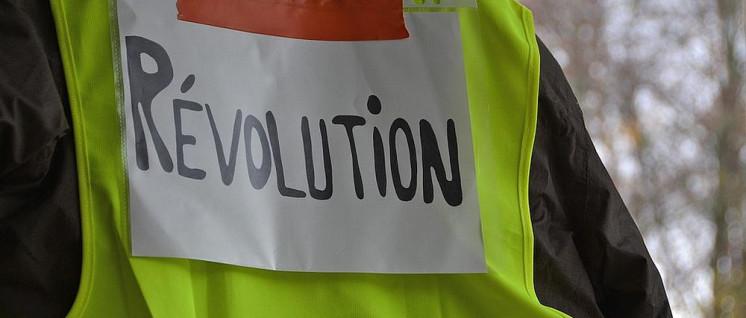 Die Gelbwesten haben die neoliberale Zerstörungswut in Frankreich ins Stocken gebracht. (Foto: Gemeinfrei)