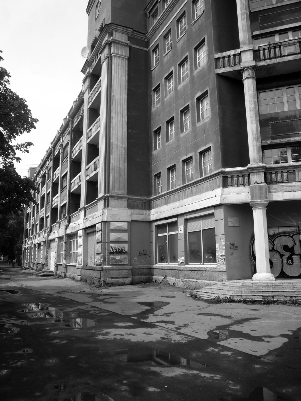Hotel Madrid Sozgorod Uralmasch Jekaterinburg, Architekt Bela Scheffler (1938)