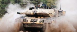 Für Rüstungsprojekte wie den Panzer Leopard 2 soll es noch mehr Geld geben. (Foto: KMW)