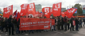 Die DKP Berlin in Aktion (Foto: DKP Friedrichshain-Kreuzberg)
