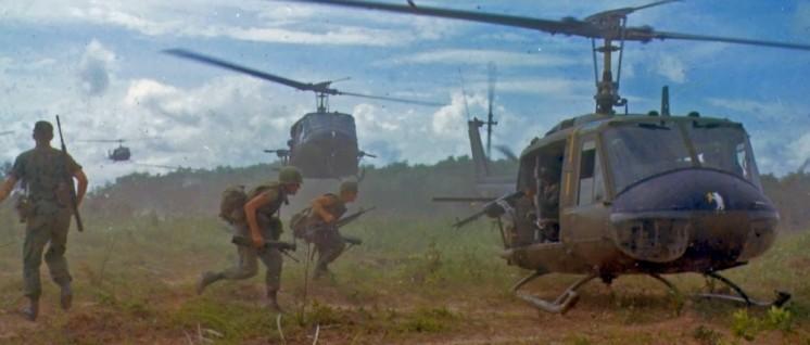 Wie im Film: Hubschraubereinsatz in Vietnam, 1966 (Foto: Gemeinfrei)
