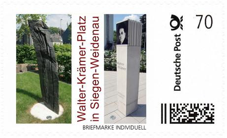 Briefmarke Walter-Krämer-Platz
