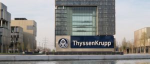 Schöne Aussicht: Die ThyssenKrupp-Zentrale in Essen (Foto: [url=https://commons.wikimedia.org/wiki/File:ThyssenKrupp_Quartier_Essen_08.jpg]Arnoldius[/url])