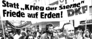 Antikriegstag 1987, Düsseldorf (Foto: UZ-Archiv)
