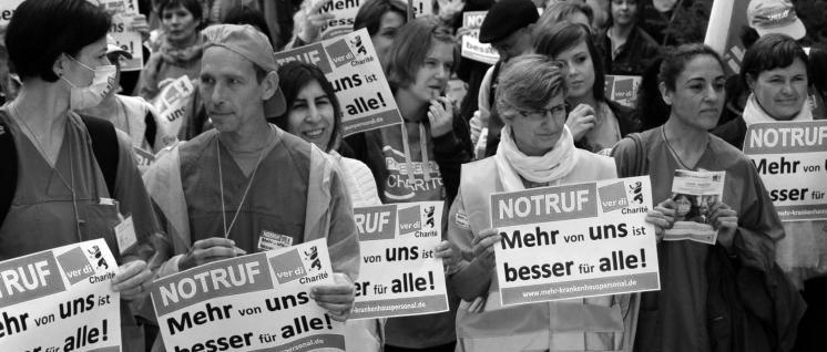 (Foto: ver.di Charité Bündnis für mehr Personal im Krankenhaus)