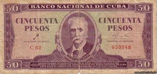 """Als Leiter der Kubanischen Nationalbank unterzeichnete Ernesto Guevara die Peso-Scheine knapp mit """"Che""""."""