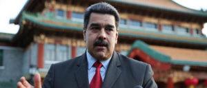 Venezuelas Präsident Nicolás Maduro versucht mit chinesischer Hilfe die Krise in seinem Land zu bekämpfen (Peking, 15. 9) (Foto: twitter.com/nicolasmaduro)