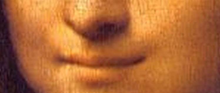Verschwommene Dialektik: Indem Leonardo die Lippen der Mona Lisa verwischt malt, zeigt er eine neue Sicht auf Mensch und Natur.  (Foto: Gemeinfrei)
