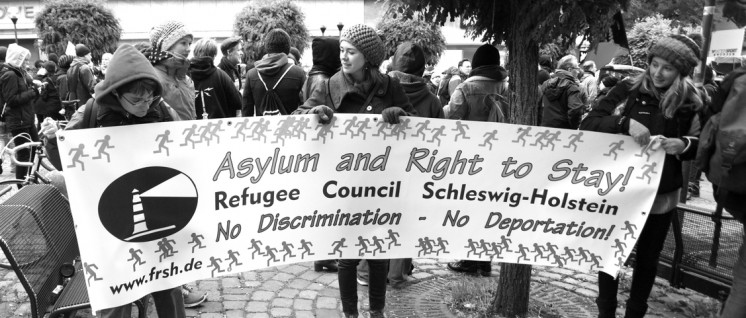 Wer Demokratie will, muss das Asylrecht verteidigen (Foto: Pewe, r-mediabase)