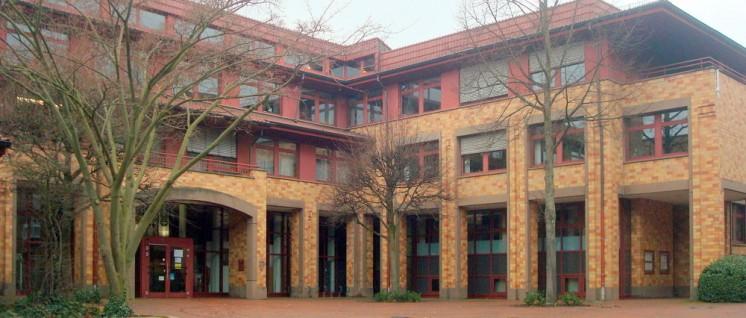 Das Rathaus von Würselen (Foto: Manfred Idler)