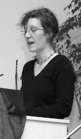 Anna Cordi (DKP) ist Mitglied im Elternbeirat einer Stuttgarter Kita