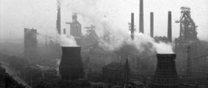 Thyssen-Stahlwerk in Duisburg 1988 (Foto: Bundesarchiv, B 145 Bild-F079041-0002 / CC-BY-SA 3.0)