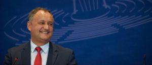 Der neu gewählte Präsident Moldawiens: Igor Dodon (Foto: Felix Zahn/©Council of Europe)