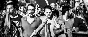 Demonstration in Athen: Auch Teile der Syriza-Basis protestierten gegen die von den Gläubigern geforderten Maßnahmen. (Foto: Jan Wellmann/flickr.com/CC BY-NC-ND 2.0)