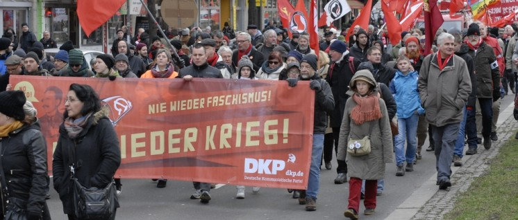Liebknecht-Luxemburg-Demonstration 2015 (Foto: Tom Brenner)