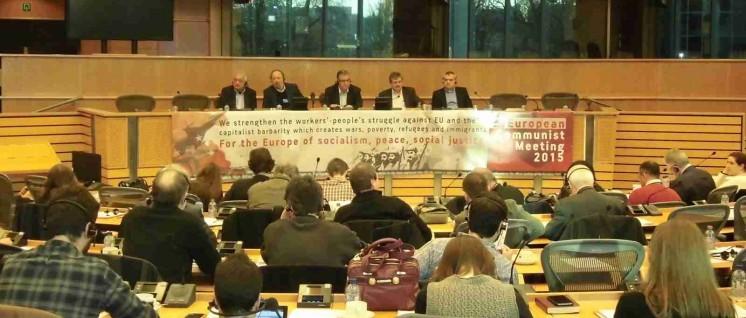 """""""Für das Europa des Sozialismus, des Friedens und der sozialen Gerechtigkeit"""