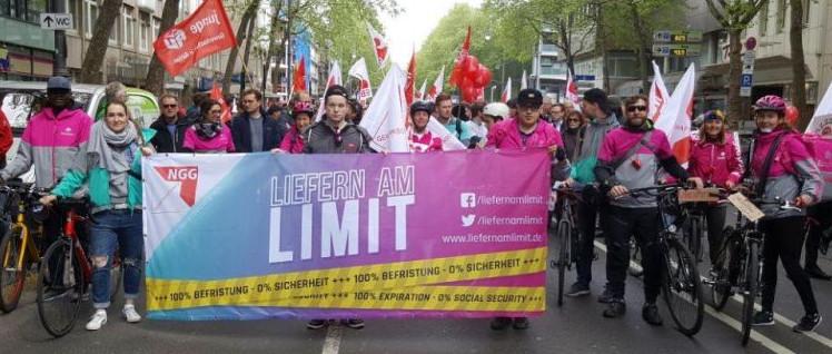 """""""Liefern am Limit"""" am 1.Mai in Köln (Foto: Liefern am Limit)"""