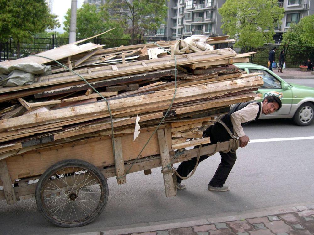 Noch gibt es überall in China Wanderarbeiter