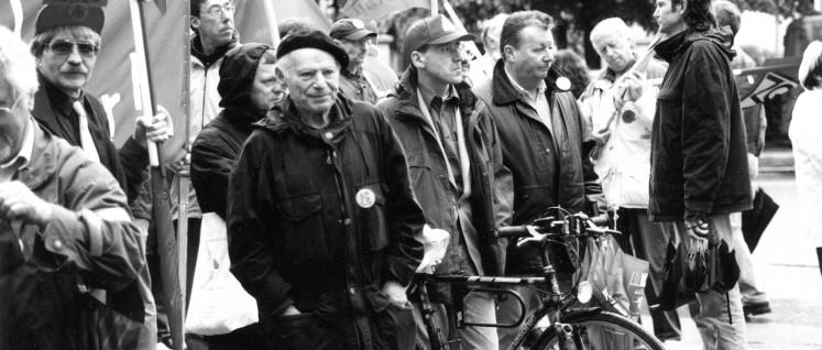 Ein Gewerkschafter unter Gewerkschaftern (Foto: privat)